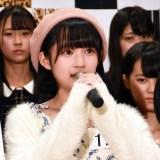 獲得ポイントで1位を獲得した矢作萌夏さん 。SKE48・矢作有紀奈の実妹(C)ORICON NewS inc.