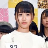 『第3回AKB48グループ ドラフト会議 候補者オーディション』3次審査で獲得ポイントで2位を獲得した中村舞さん (C)ORICON NewS inc.