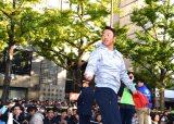 未来へつなぐ400mキャッチボールショーに挑戦した黒田博樹 (C)ORICON NewS inc.