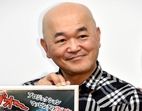 人狼ゲーム対決でAIに勝利した高橋名人=VR人狼渋谷で行われたプレスイベント (C)ORICON NewS inc.