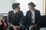 フジテレビ系連続ドラマ『民衆の敵』第5話より高橋一生と篠原涼子 (C)フジテレビ