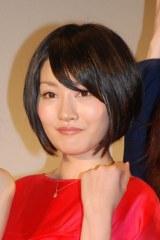映画『赤×ピンク』初日舞台あいさつに登壇した多田あさみ (C)ORICON NewS inc.