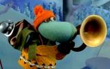 パペットアニメーション映画『ムーミン谷とウィンターワンダーランド』(12月2日公開)ヘムレン(CV:森川智之)(C)Filmkompaniet / Animoon  Moomin Characters TM