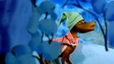 パペットアニメーション映画『ムーミン谷とウィンターワンダーランド』(12月2日公開)めそめそ(CV:森川智之)(C)Filmkompaniet / Animoon  Moomin Characters TM