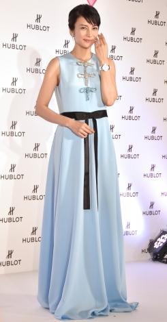 『HUBLOT LOVES WOMEN AWARD 2017』を受賞した柴咲コウ(C)ORICON NewS inc.