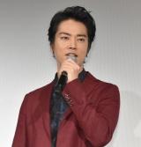 映画『火花』の試写会舞台あいさつに出席した桐谷健太 (C)ORICON NewS inc.