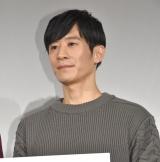 映画『火花』の試写会舞台あいさつに出席した三浦誠己 (C)ORICON NewS inc.