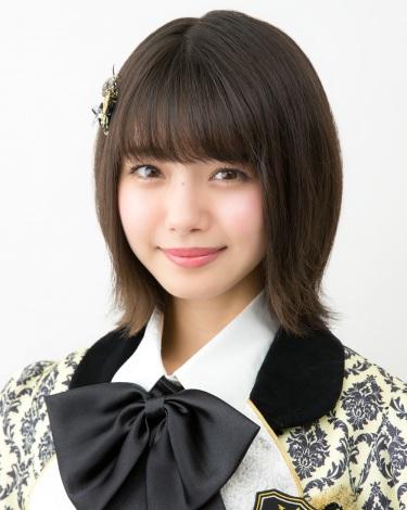 NMB48の17thシングル「ワロタピーポー」選抜メンバーの市川美織(C)NMB48