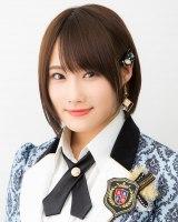 NMB48の17thシングル「ワロタピーポー」選抜メンバーの城恵理子(C)NMB48