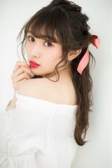 『LARME』(徳間書店)のレギュラーモデルに加入した欅坂46の渡辺梨加