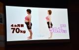 11キロの減量に成功した渡部絵美のビフォー&アフター (C)ORICON NewS inc.