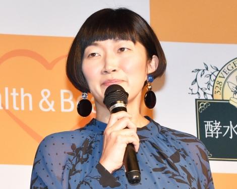ジェイフロンティア『酵水素328選』PRイベントに出席したたんぽぽ・川村エミコ (C)ORICON NewS inc.