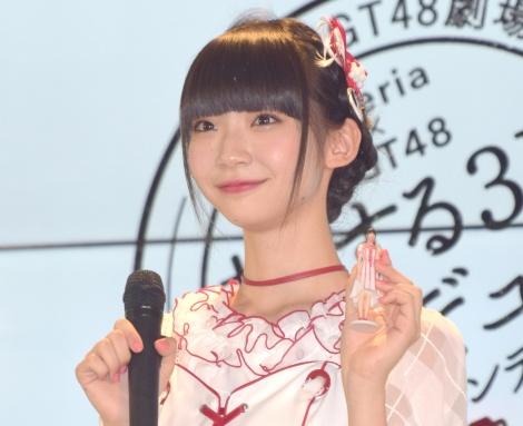 『Xperia×DMM.make』の共同記者発表会に出席したNGT48・荻野由佳 (C)ORICON NewS inc.