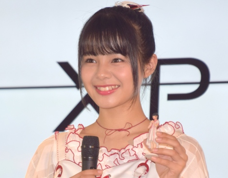 『Xperia×DMM.make』の共同記者発表会に出席したNGT48・本間日陽 (C)ORICON NewS inc.
