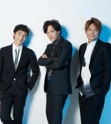 パラリンピックのスペシャルサポーターに就任した(左から)草なぎ剛、稲垣吾郎、香取慎吾(提供:日本財団パラリンピックサポートセンター)