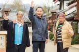 北大路欣也(中央)、泉谷しげる(右)、志賀廣太郎(左)で送る人気シリーズ『三匹のおっさん』が2018年1月2日、スペシャルドラマで帰ってくる(C)テレビ東京