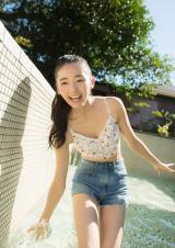 『キャンパスクイーンコレクション Smile! Fresh! Jump!』に登場する立教大学の對馬桜花(文藝春秋)