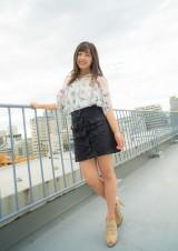 『キャンパスクイーンコレクション Smile! Fresh! Jump!』に登場するICUの山徳まりな(文藝春秋)