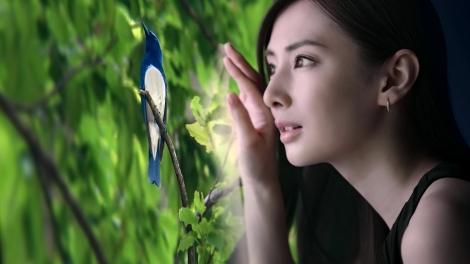 北川景子がソニーの4K有機ELテレビ『ブラビア』新CMに出演、息をのむ横顔を見せる