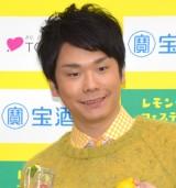 『レモンサワーフェスティバル2017in中目黒』の乾杯式に参加したかまいたち・濱家隆一 (C)ORICON NewS inc.