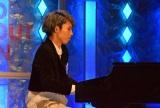 自己PRではピアノを披露した定岡遊歩さん (C)ORICON NewS inc.