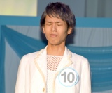 『第42回ホリプロタレントスカウトキャラバン』グランプリに輝き、涙をこらえる定岡遊歩さん (C)ORICON NewS inc.