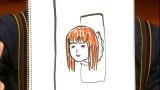 バカリズムが描いたaikoのイラスト