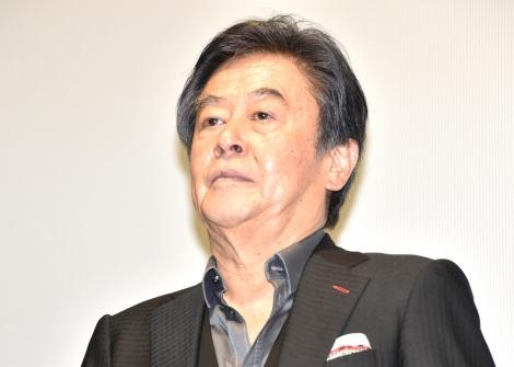 映画『こいのわ 婚活クルージング』初日舞台あいさつに登壇した風間杜夫 (C)ORICON NewS inc.