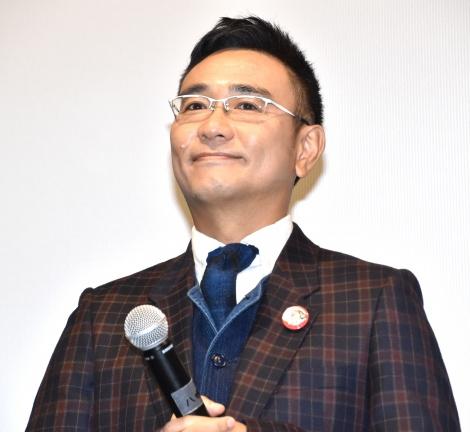 映画『こいのわ 婚活クルージング』初日舞台あいさつに登壇した八嶋智人 (C)ORICON NewS inc.