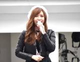 ソロ初アルバム『STAR-T!』インストアイベントで3曲を歌唱した河西智美 (C)ORICON NewS inc.