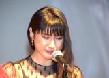 土屋太鳳、女優賞の受賞理由で感涙 (17年11月18日)
