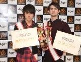 (左から)伊藤セナさん、栗原海志瑠さん=『FRESH CAMPUS CONTEST 2017』 (C)ORICON NewS inc.