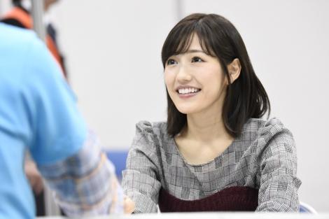 AKB48人生11年、最後の握手会を終えた渡辺麻友(C)AKS