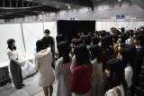 AKB48グループ総監督の横山由依が候補者を激励(C)AKS