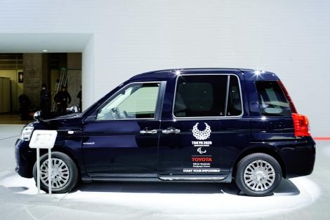 トヨタの新型タクシー専用車『JPN TAXI(ジャパンタクシー)』