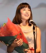 第9回TAMA映画賞の授賞式に参加した石橋静河 (C)ORICON NewS inc.
