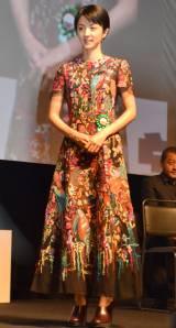第9回TAMA映画賞の授賞式に参加した満島ひかり (C)ORICON NewS inc.