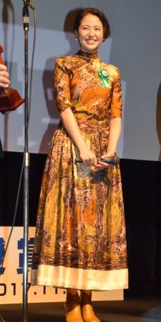 第9回TAMA映画賞の授賞式に参加した長澤まさみ (C)ORICON NewS inc.
