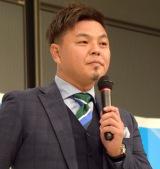 『第96回全国高校サッカー選手権大会』の組み合わせ抽選会に出席した城彰二氏 (C)ORICON NewS inc.
