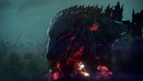 アニメーション映画『GODZILLA 怪獣惑星』地球に君臨するゴジラ(C)2017 TOHO CO., LTD.
