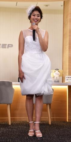 アイシン精機『ASLEEP(アスリープ)』初のコンセプトショップ『ASLEEP CONCEPT SHOP COCON AOYAMA(ココンアオヤマ)』記者発表会に出席した稲村亜美 (C)ORICON NewS inc.