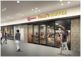 「花のれんタリーズコーヒー なんばグランド花月店」のイメージ図(※実際と異なる場合あり)