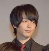 映画『伊藤くん A to E』の完成披露試写会に参加した中村倫也 (C)ORICON NewS inc.