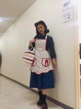 笠置シヅ子役を演じるチャラン・ポ・ランタンのもも(C)テレビ朝日
