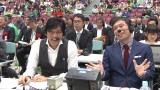 大河ドラマ『真田丸』直江兼続役で注目された村上新悟は小山高専出身。全国大会の生放送ゲストのほか、ドラマ『大江戸ロボコン』にも出演(C)NHK