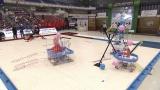 『第30回高専ロボコン 全国大会 大江戸ロボット忍法帳』12月3日、NHK総合で生放送。写真は地区大会の模様(C)NHK