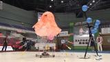 『第30回高専ロボコン 全国大会 大江戸ロボット忍法帳』12月3日、NHK総合で生放送。写真は地区大会の模様。タコをモチーフにした変わり種ロボットも登場!(C)NHK
