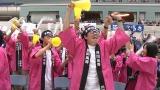 『第30回高専ロボコン 全国大会 大江戸ロボット忍法帳』12月3日、NHK総合で生放送。写真は地区大会の模様。応援団も盛り上がる(C)NHK