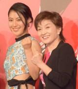 ミュージカル『Endless SHOCK』の製作発表会見に出席した瀧本美織、久野綾希子 (C)ORICON NewS inc.