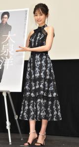『大泉洋映画祭』の舞台あいさつに出席した前田敦子 (C)ORICON NewS inc.